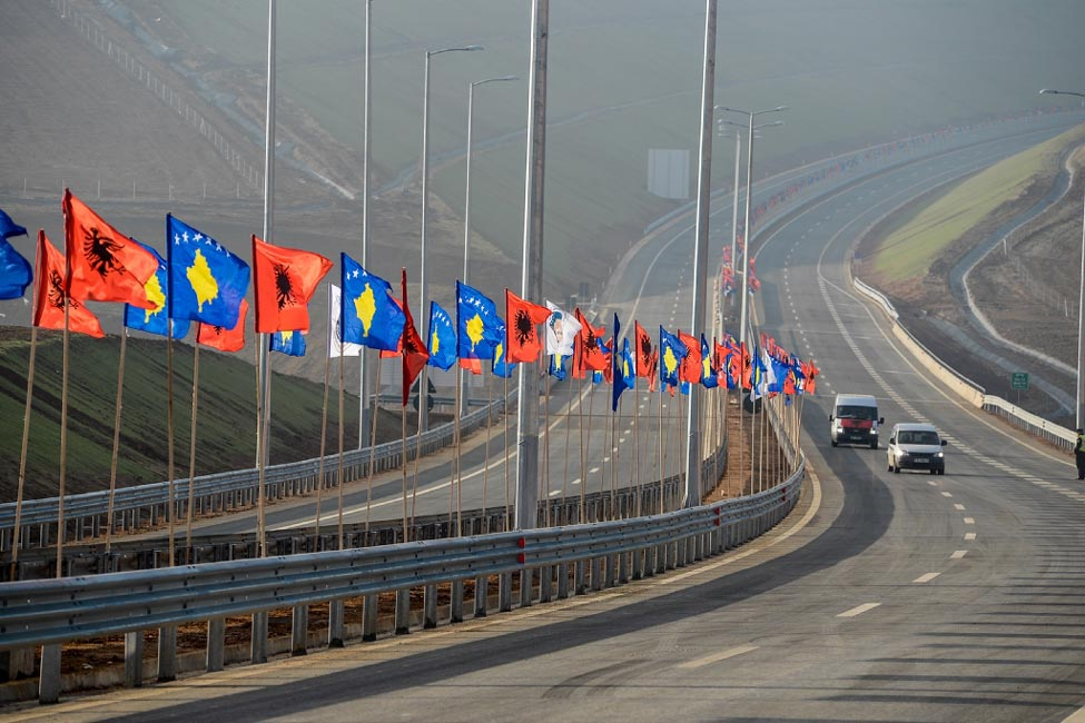 Award winning Kosovo Motorway