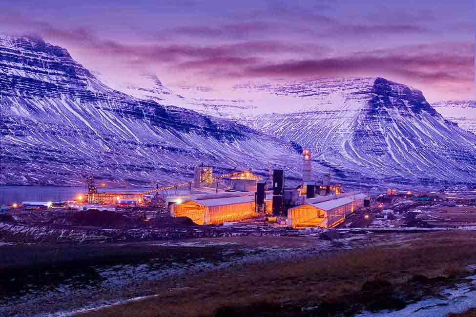Fjarðaál was the largest private investment in Iceland's history