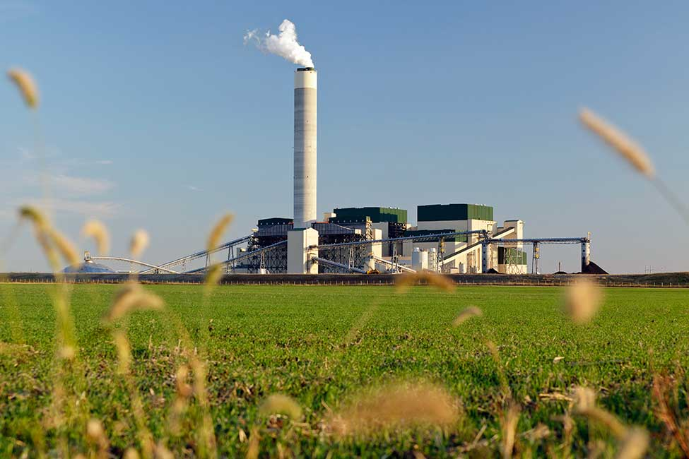 Prairie State's carbon-dioxide emissions are 15 percent less than those emitted by comparable plants