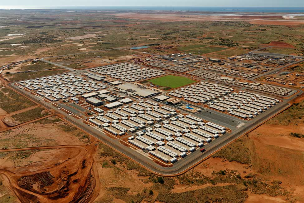 Wheatstone housing camp