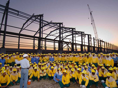 Construction of Sohar Aluminium Smelter