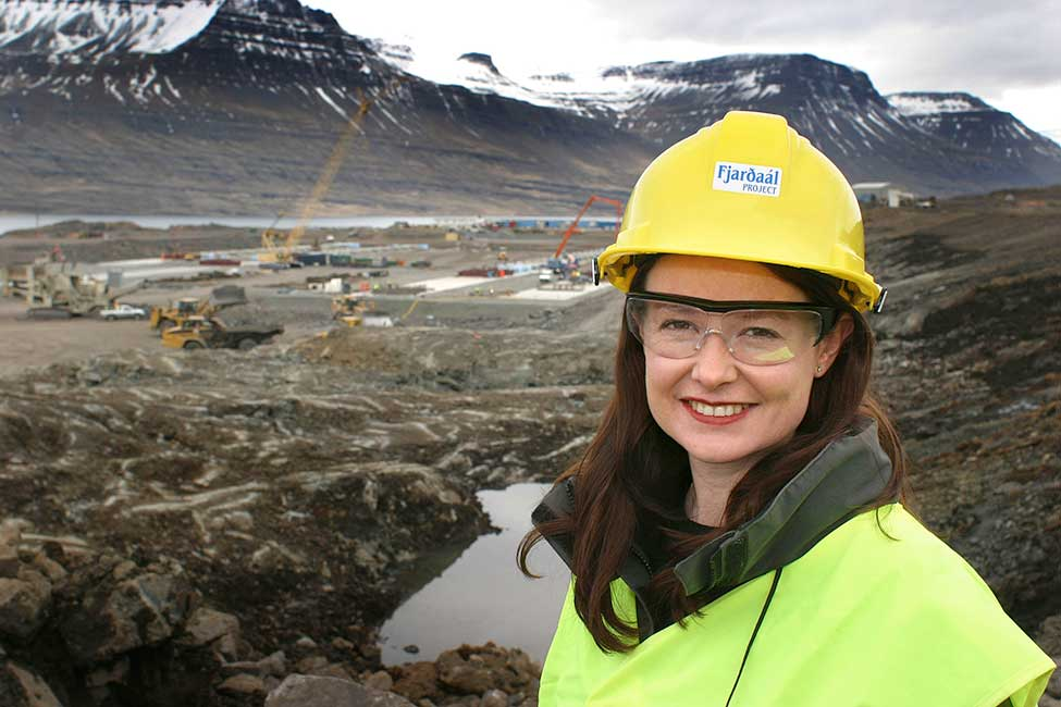 Fjarðaál marked Bechtel's first experience in Iceland