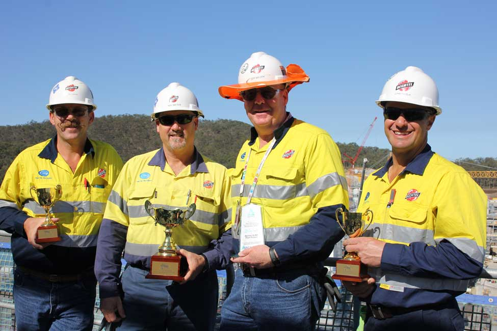 Bechtel Wins Australian National Safety Award