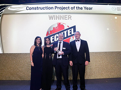 "S&P Global Platts honors Bechtel with ""Construction Project of the Year"""