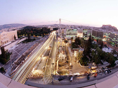 Construction of the Athens Metro System