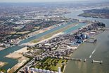 Aerial view of the London City Airport ®AndrewHolt