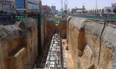 Stability of Excavations in Karst for Deep Underground Stations of Lines 1 and 2 of Riyadh Metro Project
