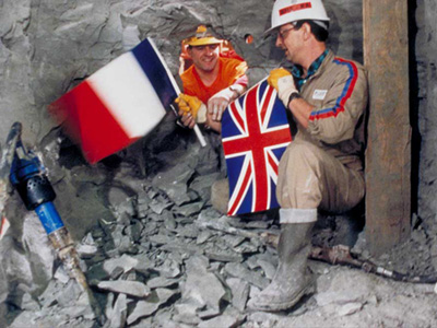 Building the Channel Tunnel