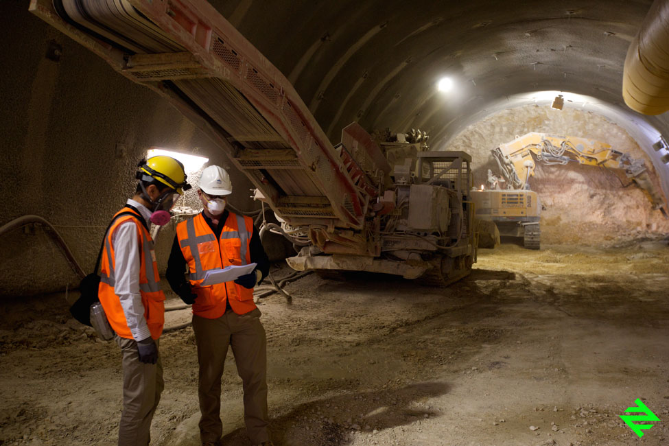 Riyadh Metro Tunnel Breakthrough