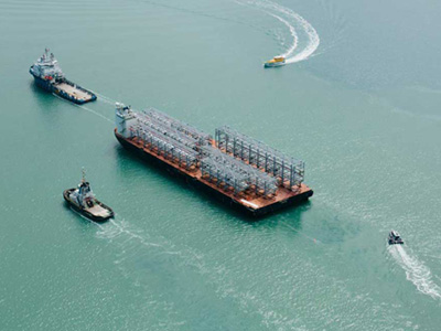 Bechtel Completes Extraordinary Module Program for Curtis Island LNG Projects