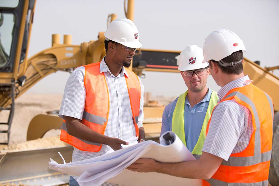 Bechtel on site at Jubail City