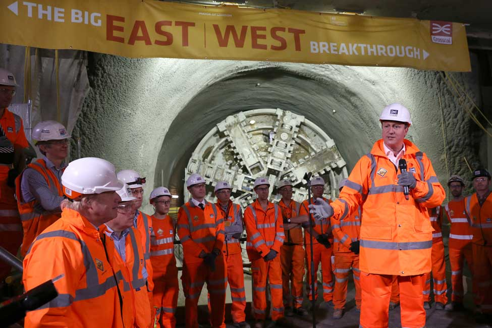65%25 of London Crossrail Complete