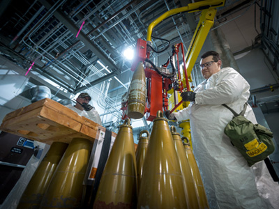 chemical weapons disassembly deconstruction bechtel