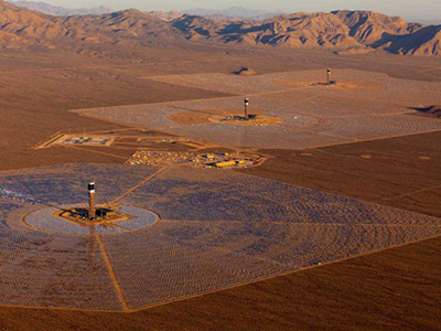 Bechtel Built Iconic Solar Project Produces First Power to Grid
