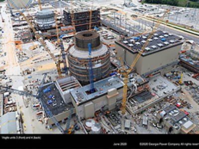 Crews complete closed vessel and safety testing on Vogtle nuclear unit 3 reactor