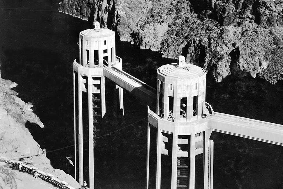 Intake towers