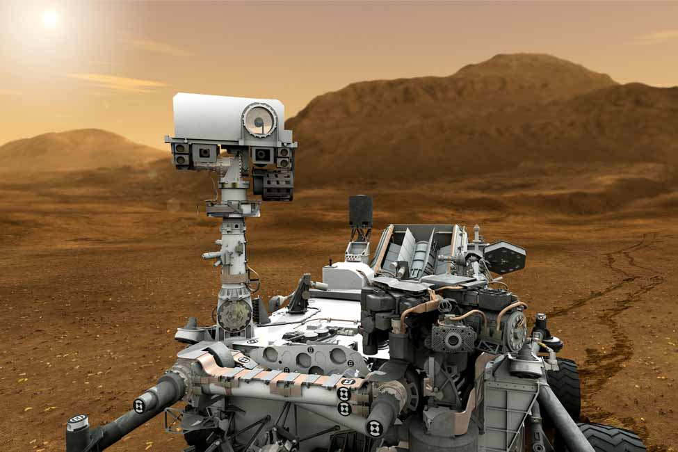 NASA sourced the ChemCam instrument for its Mars Science Laboratory rover Curiosity
