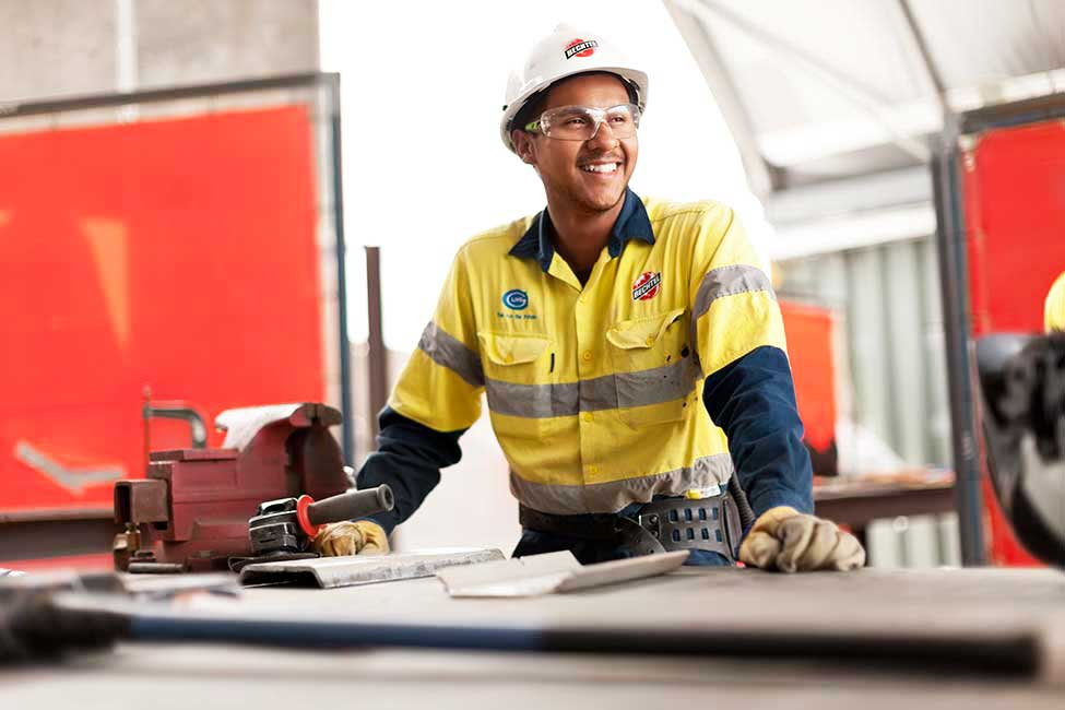 The largest apprentice program in Australian history at Curtis Island LNG