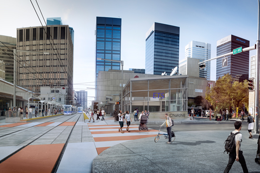 Edmonton Valley Line Light Rail Transit project