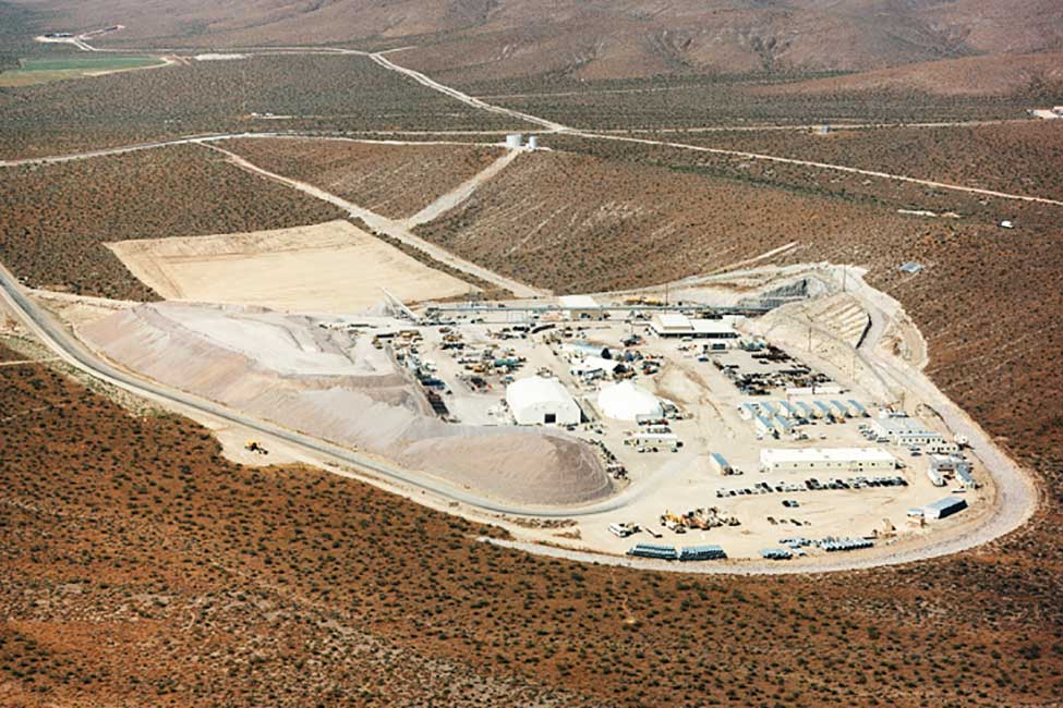 yucca mountain nuclear waste job site