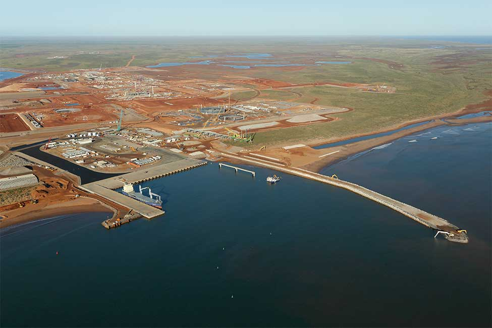 Wheatstone's materials offloading facility