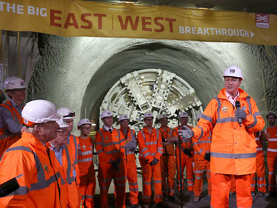 Bechtel and Crossrail Complete Tunneling on Europe's Largest Engineering Project