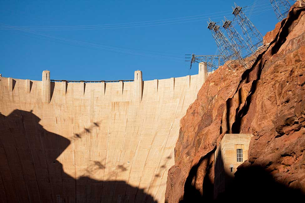 Hoover Dam and Black Canyon