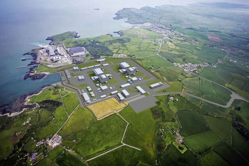 The two-reactor plant is expected to provide low-carbon energy for up to 5 million households