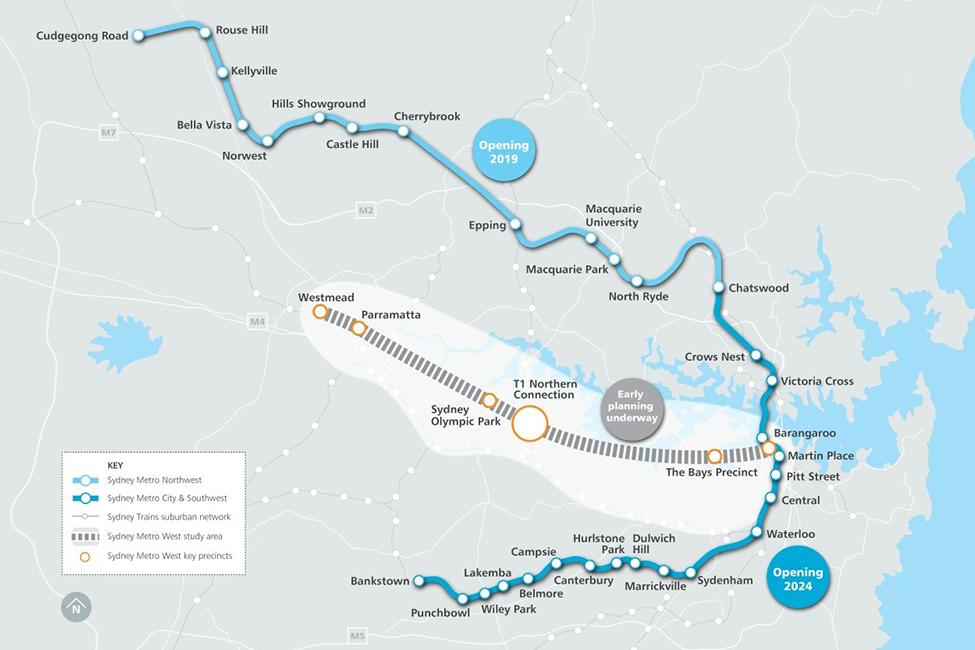 Sydney Metro Australia S Biggest Public Transport Project Bechtel