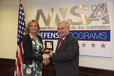 A Career in Service to National Security: Bechtel Executive Honored by U.S. Department of Energy