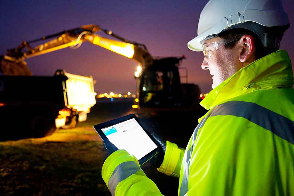 Less Dust, More Data. Construction Sites Have Gone High-Tech