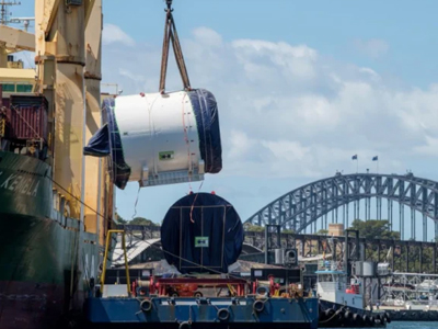 a 130-metre boring machine named Kathleen will begin one of the most complex parts of tunnelling for Sydney