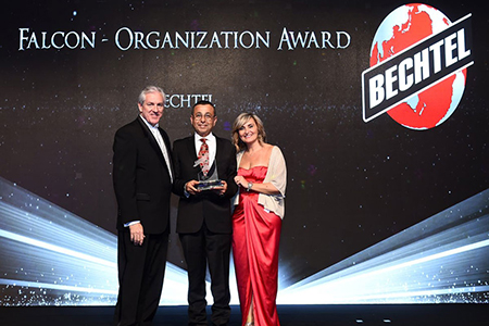 Bechtel Wins Prestigious Award for Commitment to U.S.-U.A.E. Business Relations