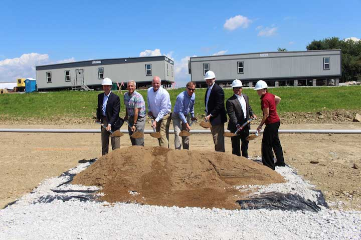 Carroll County power groundbreaking