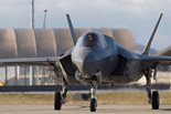 An F-35B Lightning II fighter jet Image: © Crown copyright 2013