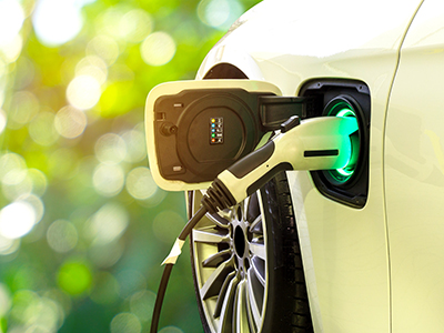 plugged-in electric vehicle
