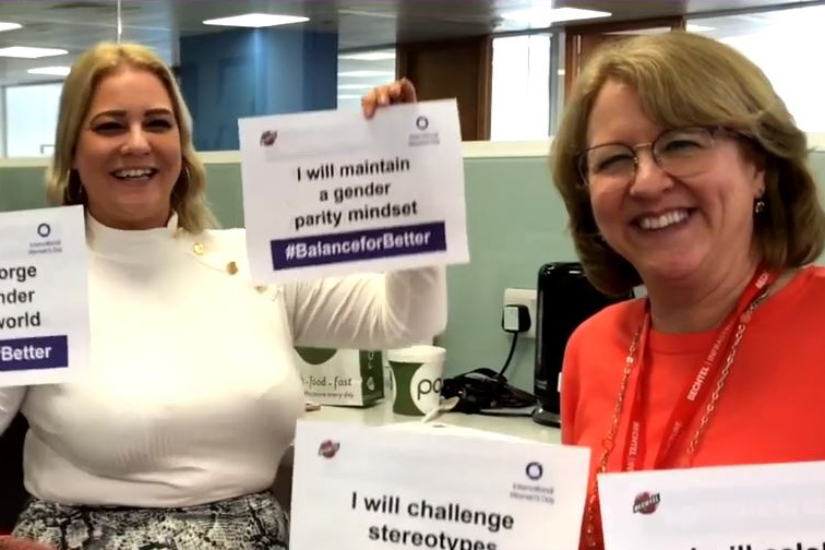 Image representing Around the world, Bechtel celebrates women, #BalanceforBetter