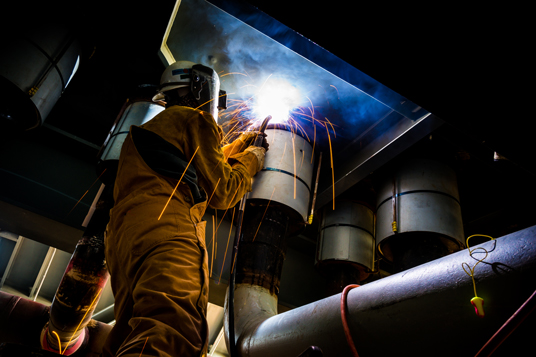 Bechtel Receives AWS Excellence in Welding Award for 2015