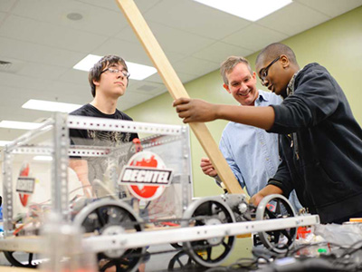Bechtel-Sponsored Teams to Compete in FIRST Robotics Competition