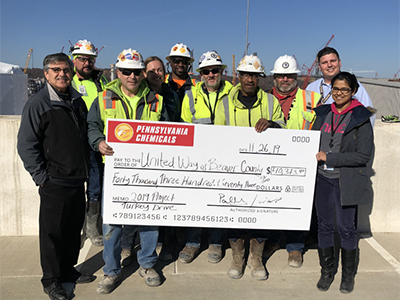 Image of United Way Of Beaver County Receives $100K Donation From Bechtel & Shell