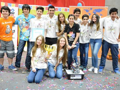 Image of Con apoyo de Bechtel culmino Torneo de Robotica First Lego League 2016