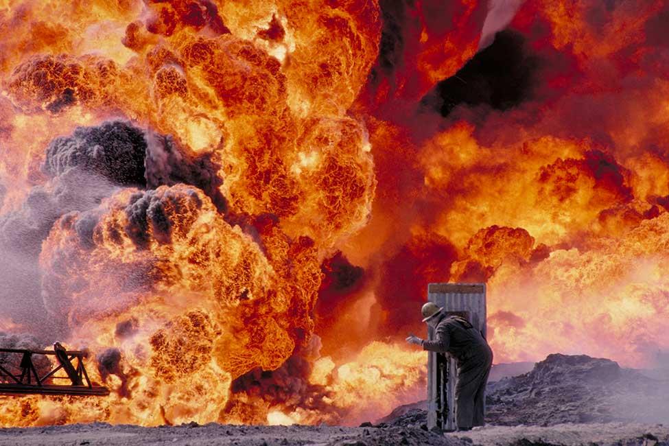 Image result for oil fires