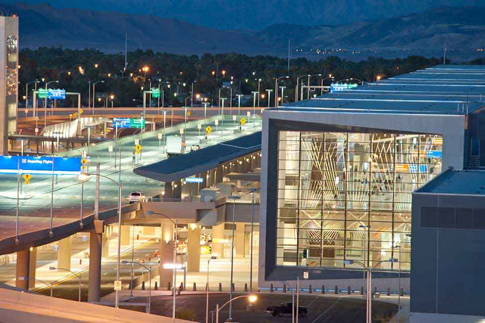 Since 1981, McCarran International Airport has tripled in size—as has the city it serves
