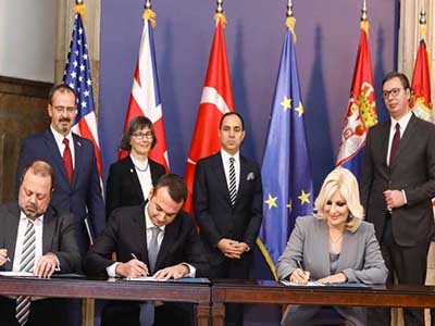 Image of Serbia signs 745 mln euro motorway construction deal with Bechtel-Enka tie-up
