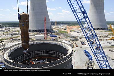 Bechtel Selected to Complete Construction of U.S. Nuclear Plant Expansion