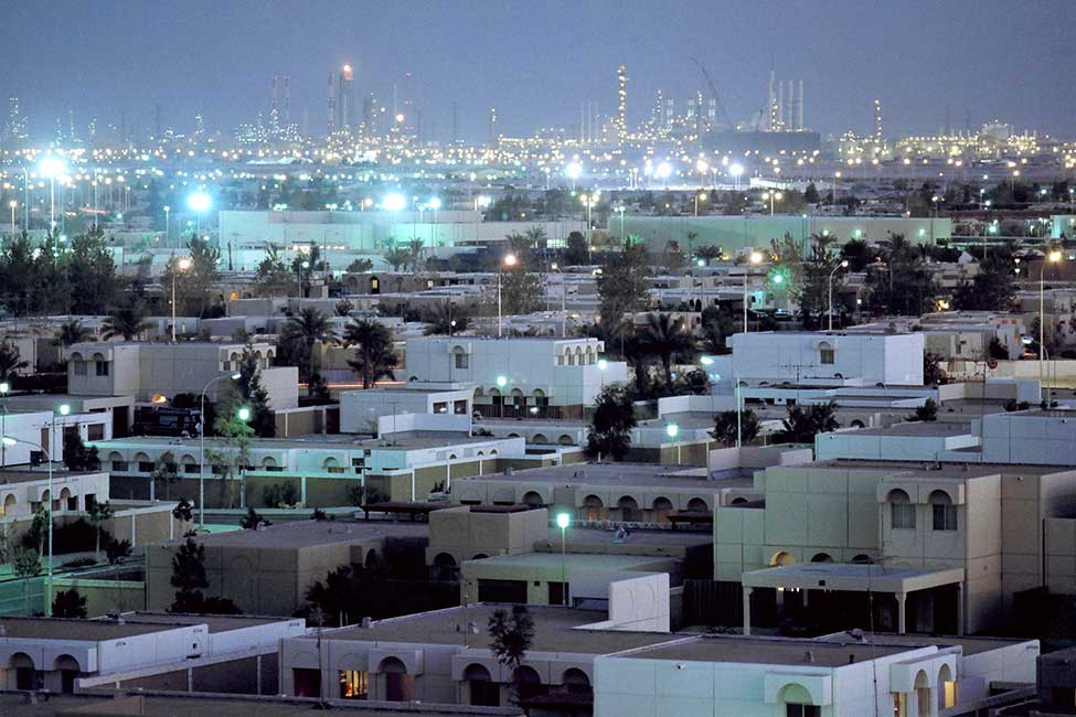 Jubail's population exceeds 100,000