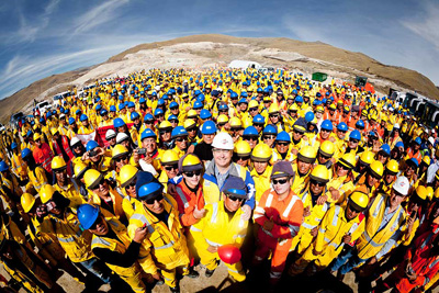 Bechtel mining and metals projects