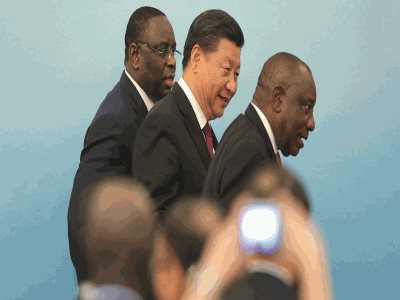 Chinese Influence Grows As US Flounders In Africa.