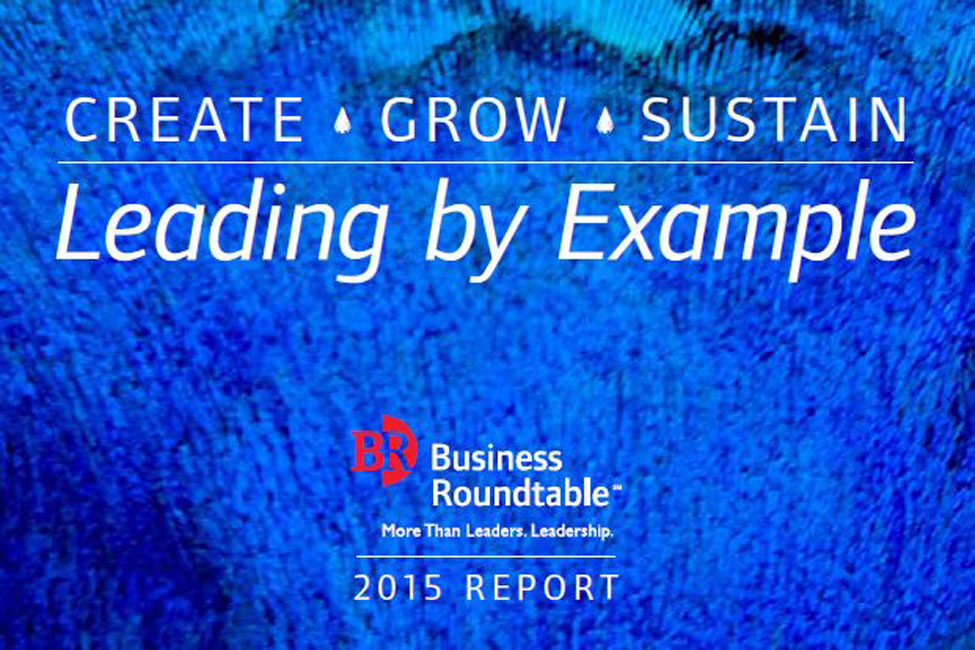 Bechtel featured in 2015 Business Roundtable Report