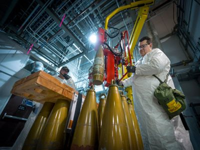 Chemical Agent Destruction Plant Safely Neutralizes 100,000 Chemical Weapons